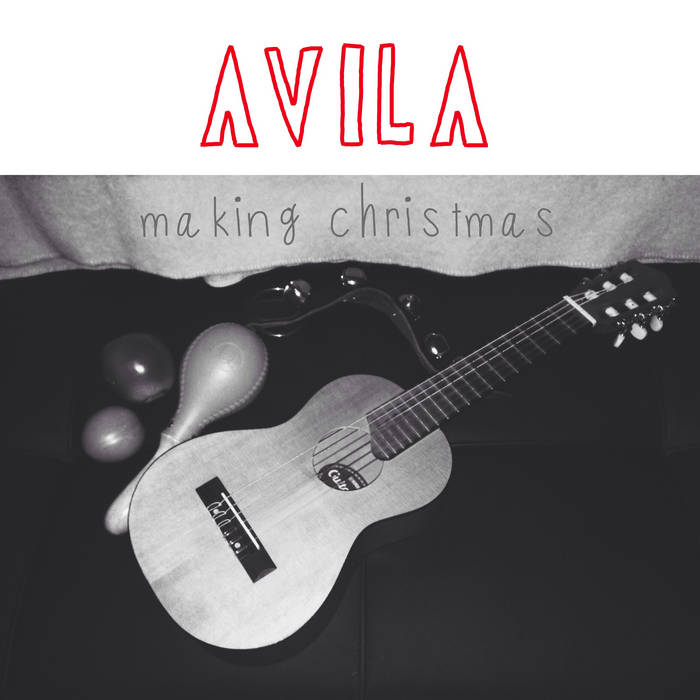 Making Christmas cover art