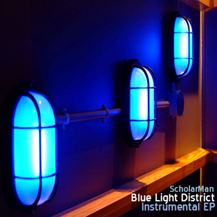 Blue Light District (Instrumental EP) cover art