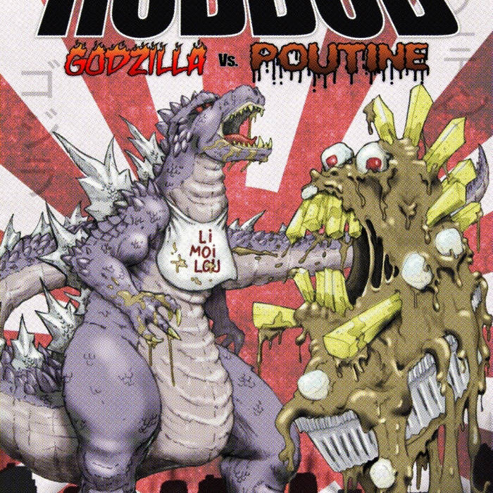Godzilla vs. Poutine cover art