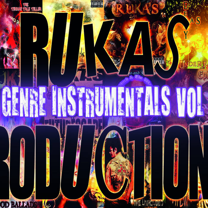MIXED GENRE INSTRUMENTALS  2015 VOL 1 cover art