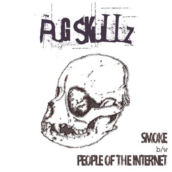 Smoke b/w People of the Internet cover art