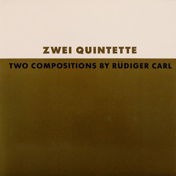 Two Compositions by Rüdiger Carl cover art