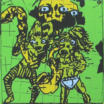 BLACK PUS 1 cover art