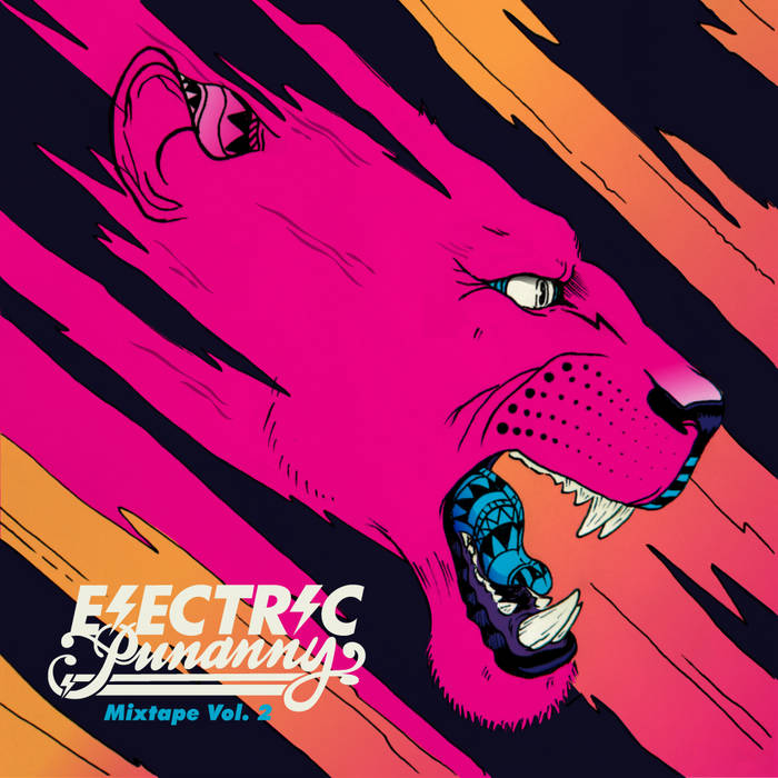 ELECTRIC PUNANNY MIXTAPE Vol. 2 cover art