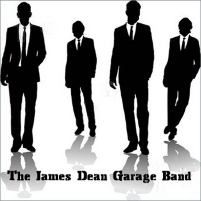 The James Dean Garage Band cover art