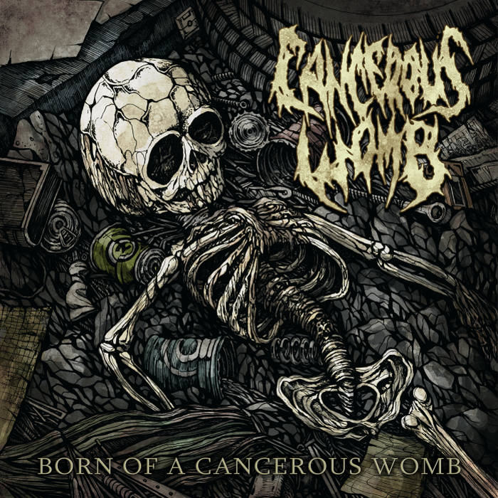 Born Of A Cancerous Womb cover art