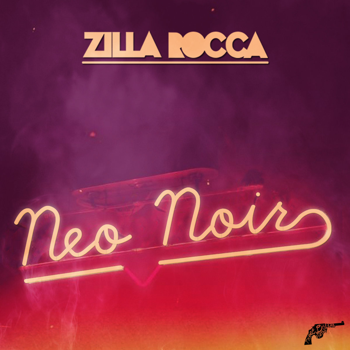 Neo Noir Artwork Neo Noir Mixtape Cover Art