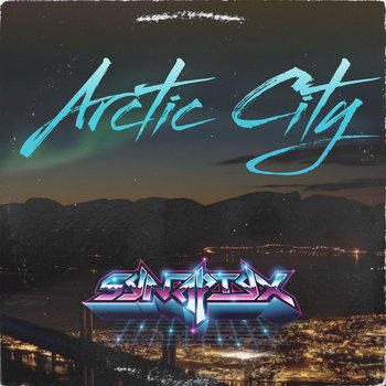 Arctic city cover art