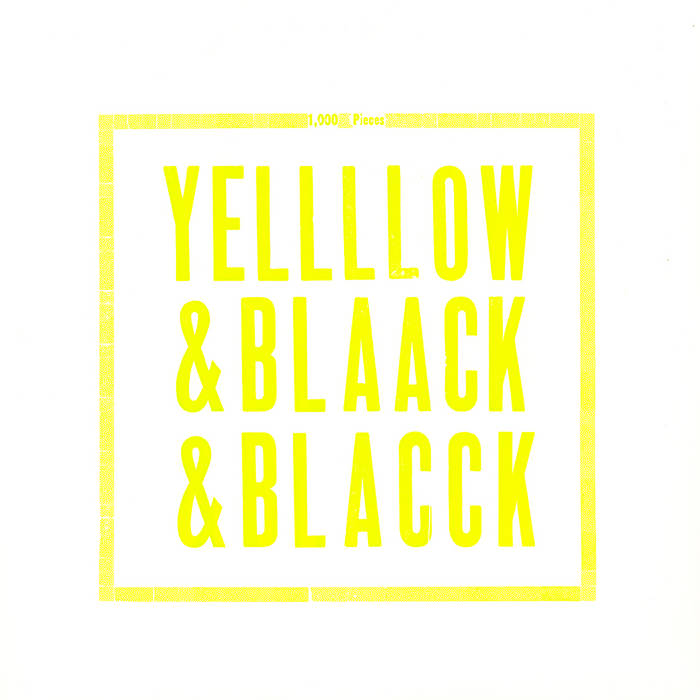 Yellow & Black & Black cover art