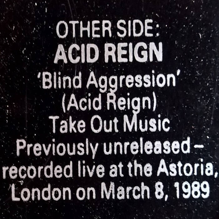 Blind Aggression cover art