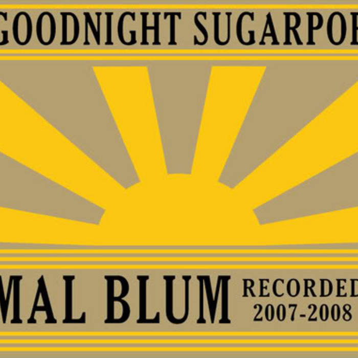 Goodnight Sugarpop cover art