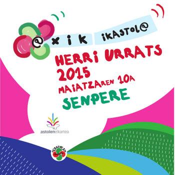 HERRI URRATS 2015: @xik ikastol@ (feat. Niko Etxart) cover art