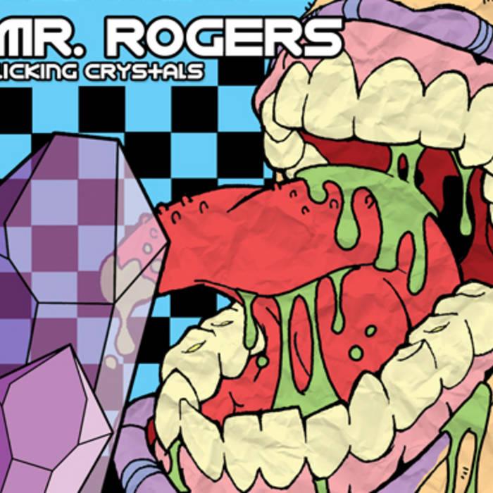 Licking Crystals CD cover art