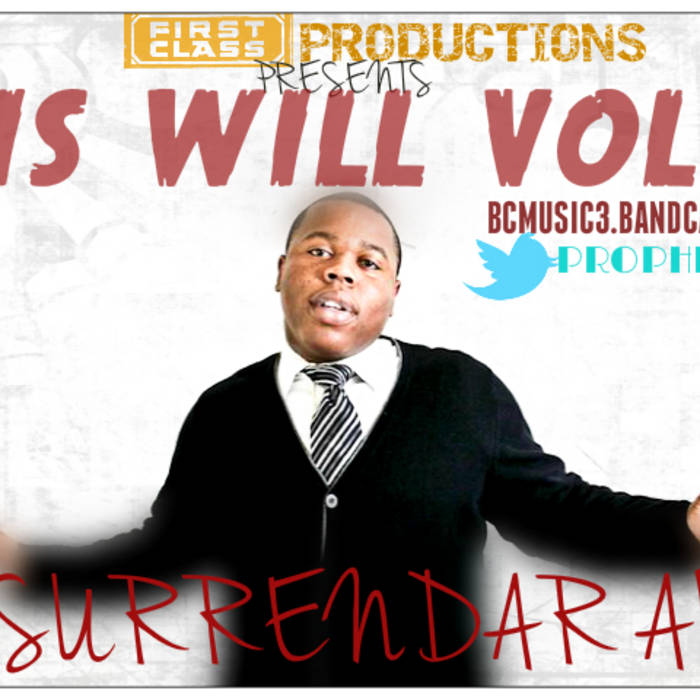 """HIS WILL"" VOL 2 cover art"