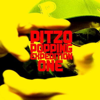 PITZO POPPING EXPEDITION One cover art
