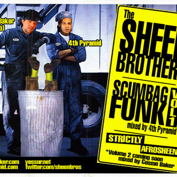 Sheen Bros - Scumbag Funk Vol. 1 cover art