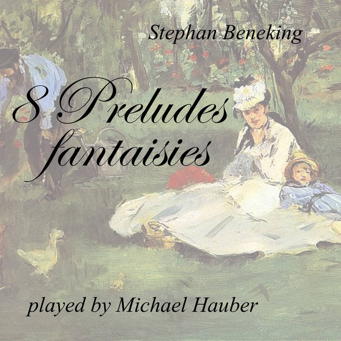 8 Preludes fantaisies cover art