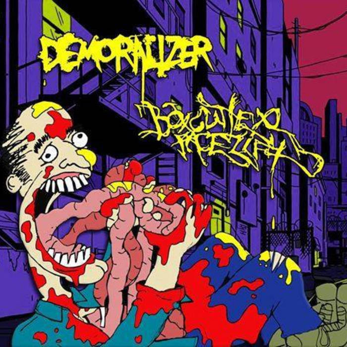 Boxcutter Facelift/Demoralizer Split cover art
