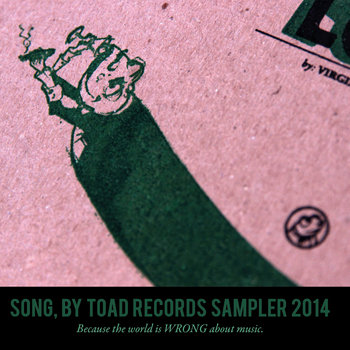 Song, by Toad Records 2014 Sampler cover art