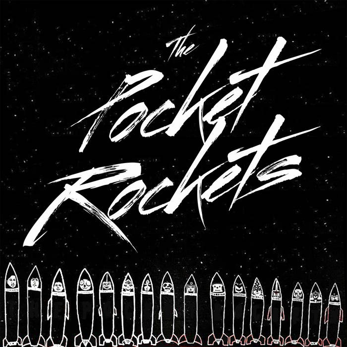 The Pocket Rockets EP cover art