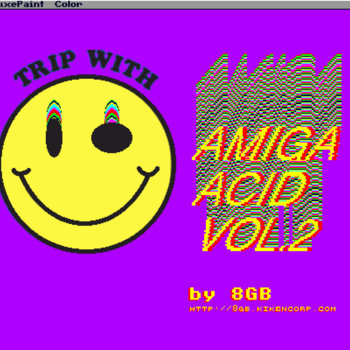 Amiga Acid Mixtape Vol.2 cover art