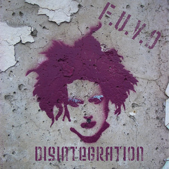 Disintegration [The Cure Covered] cover art