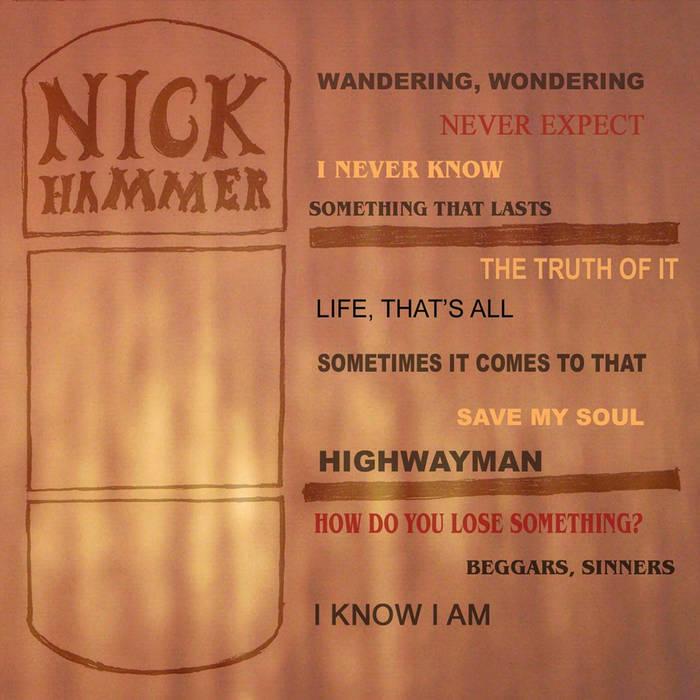 Nick Hammer cover art