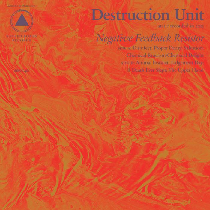 Negative Feedback Resistor cover art