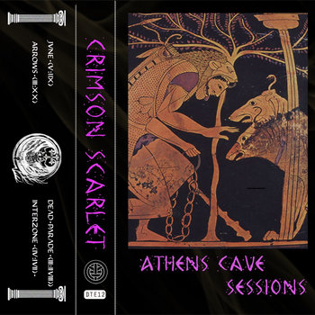 Athens Cave Sessions EP cover art