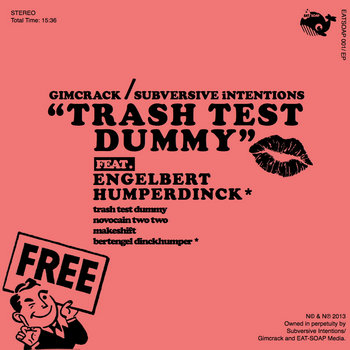 Trash Test Dummy EP cover art