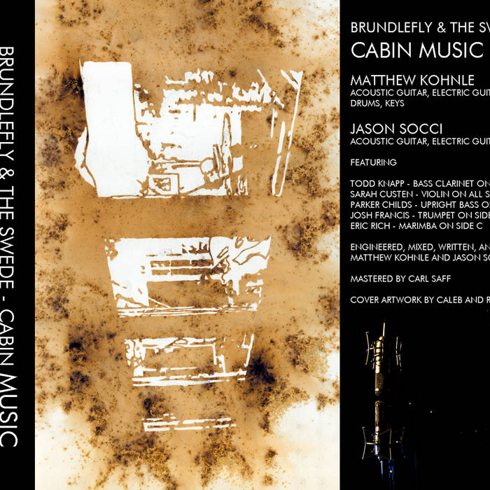 """""""CABIN MUSIC"""" CASSETTE EDITION on Obscure Me records cover art"""