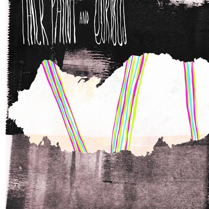 Thick Paint/Qurious Split Cassette '12 cover art