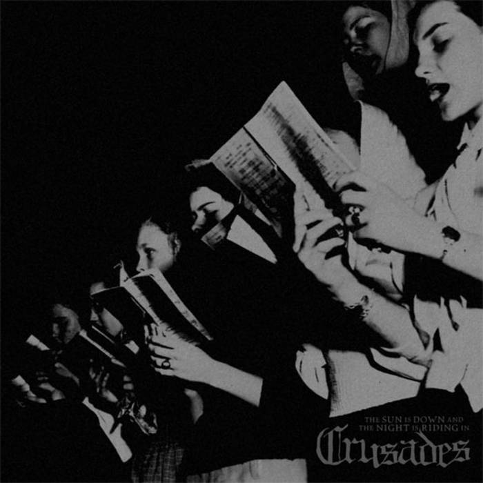 """Crusades - The Sun Is Down... 12"""" cover art"""
