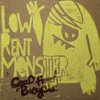 Low Rent Monster cover art