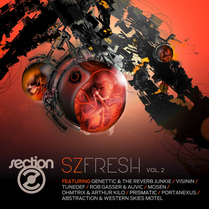 SZ Fresh Vol. 2 cover art