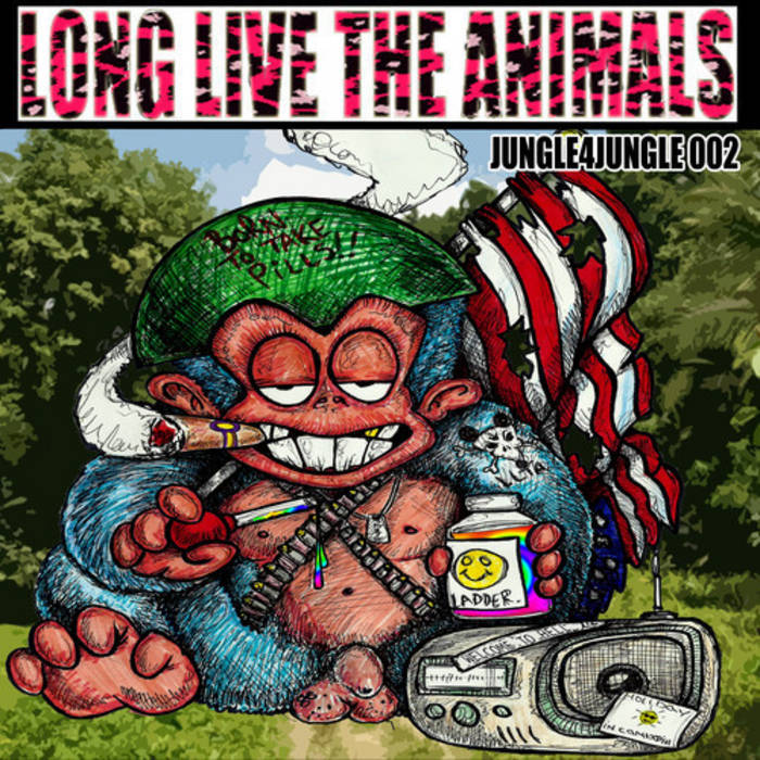 LLTA004 - Various Animals - Jungle4Jungle002 cover art