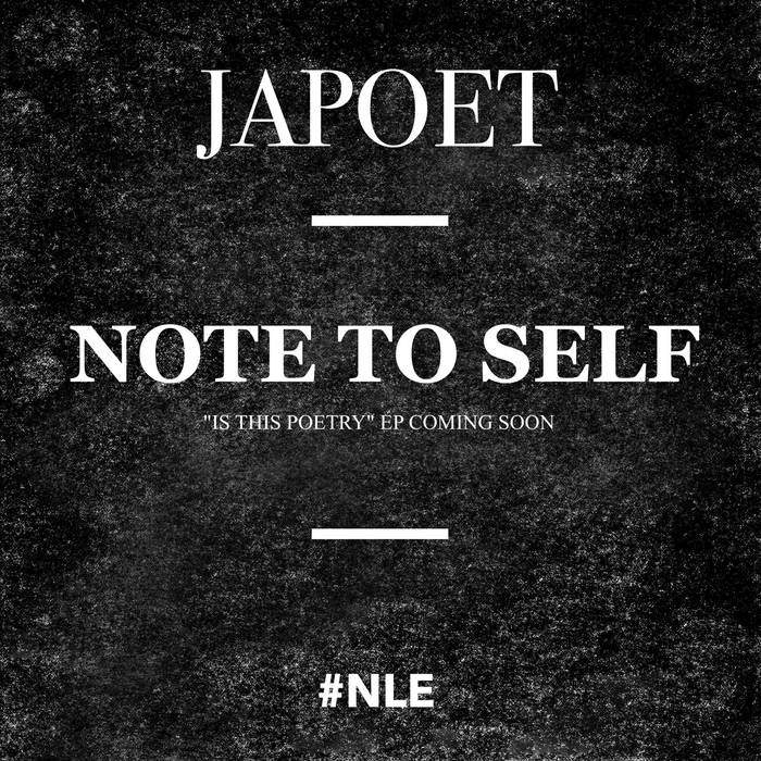 Note To Self cover art