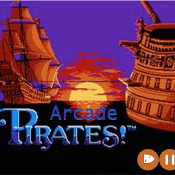 Arcade Pirates! single cover art