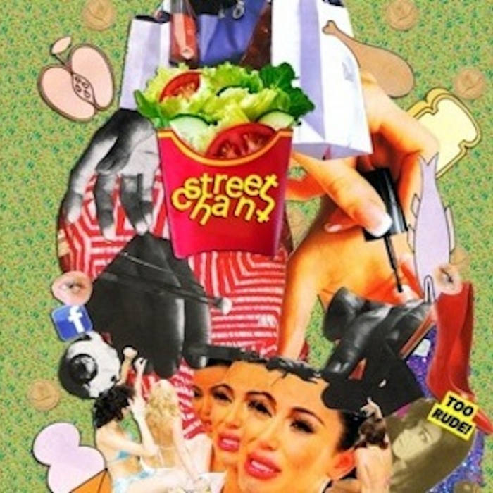 Frail Girls/Salad Daze - Double A cover art