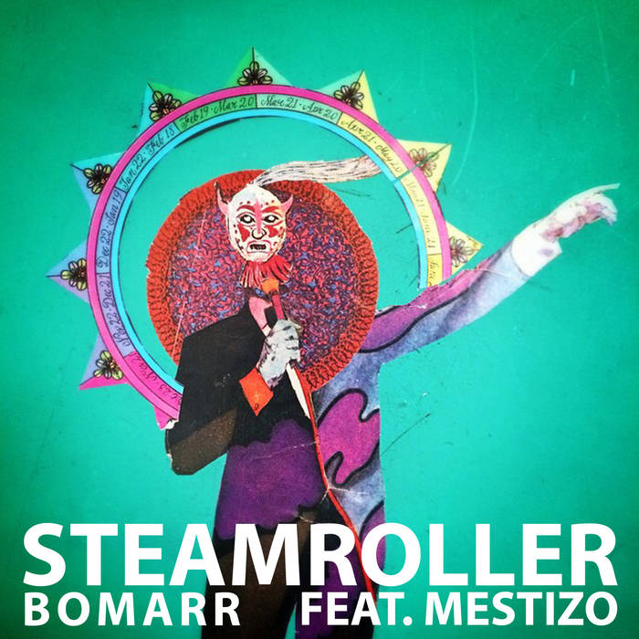 Steamroller (feat. Mestizo) cover art
