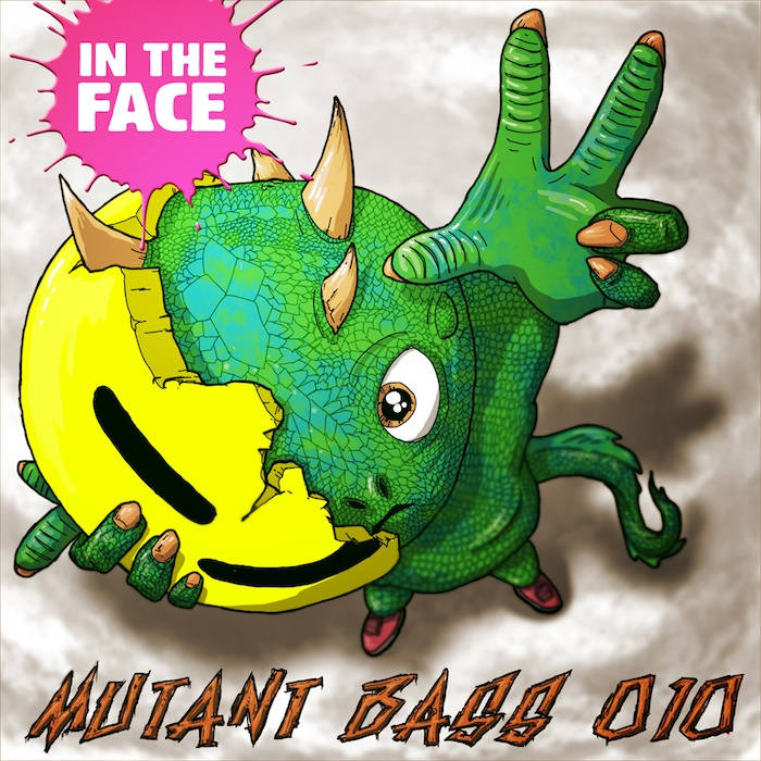 In The Face EP cover art