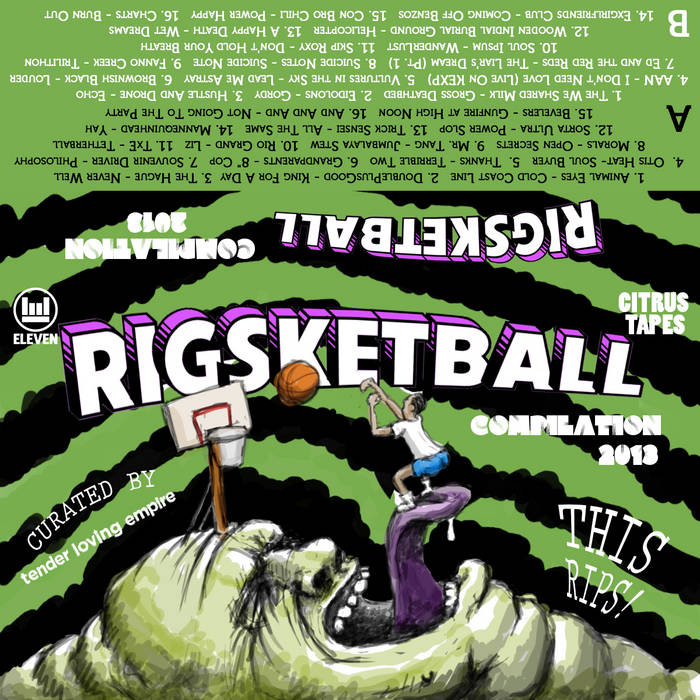 RIGSKETBALL 2013 COMP! cover art
