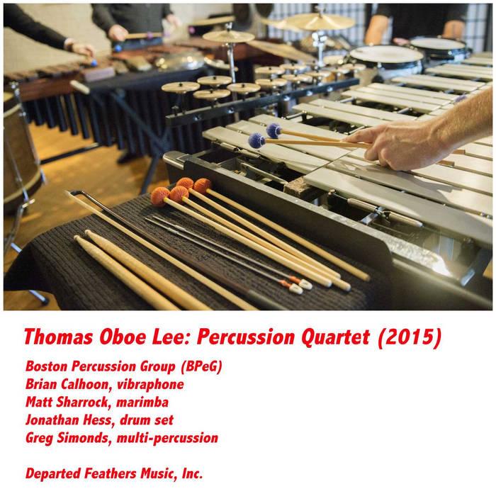 Percussion Quartet (2015) cover art