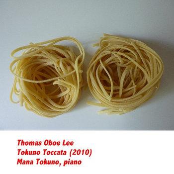 Tokuno Toccata (2010) cover art