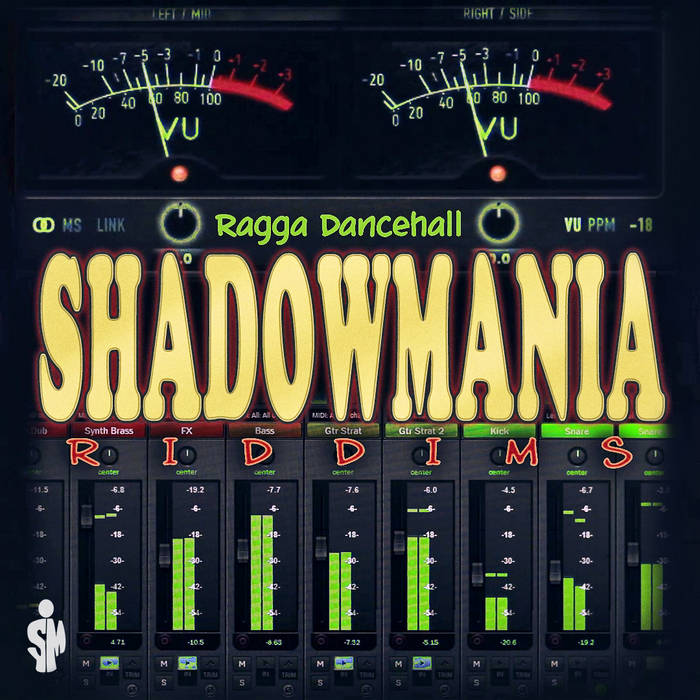 SHADOWMANIA - Ragga/Dancehall Riddims vol.1 cover art