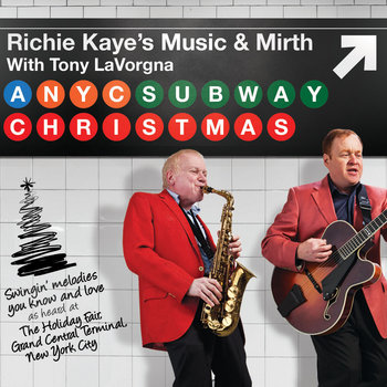 A New York City Subway Christmas cover art