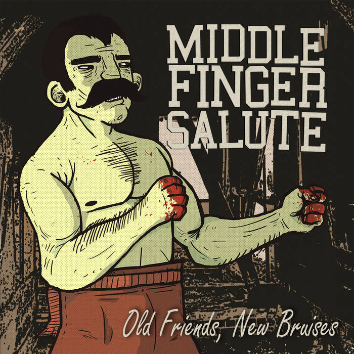 Old Friends, New Bruises cover art