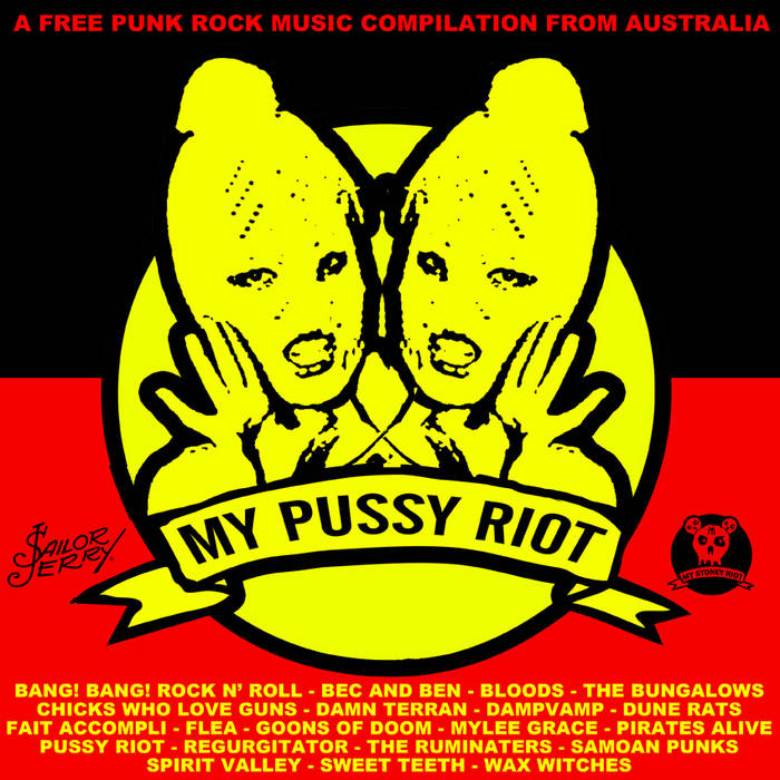 MY PUSSY RIOT cover art
