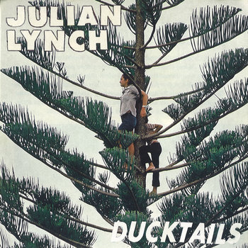 "Ducktails Split 7"" cover art"