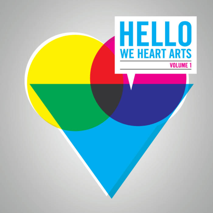 Hello, We Heart Arts Volume 1 cover art